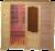 Инфракрасная сауна 4-местная (пленка)