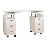 Маникюрный стол Каллас 2-х тумбовый