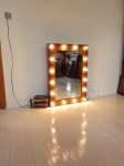 Зеркало для визажа, размер 100х70 см.