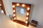 Гримерное зеркало размер 80х60 см.